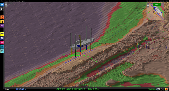 Dredge master Drill - 3D view